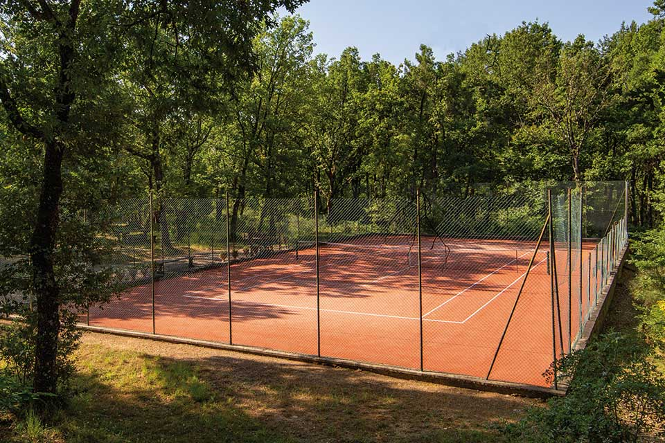 Campo da tennis privato
